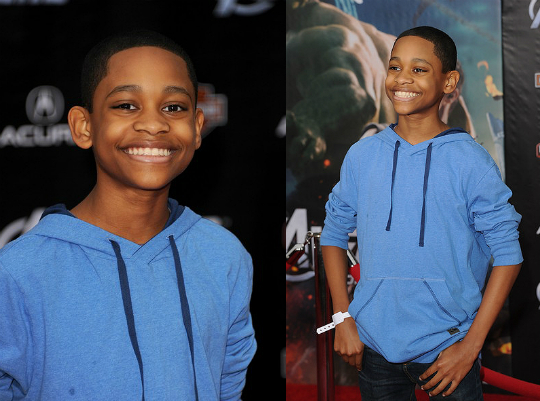 TYREL JACKSON WILLIAMS: 'THE AVENGERS' PREMIERE