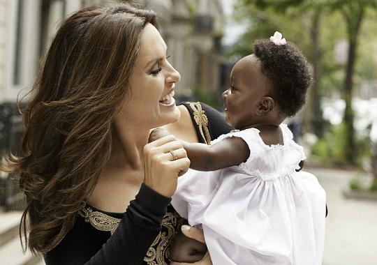 Mariska Hargitay Adoption MARISKA HARGITAY: 'ADO...