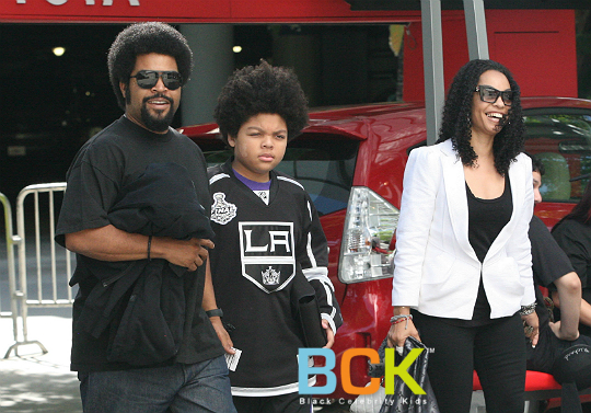 Ice Cube Family 2012 SPOTTED: ICE CUBE, MAR...