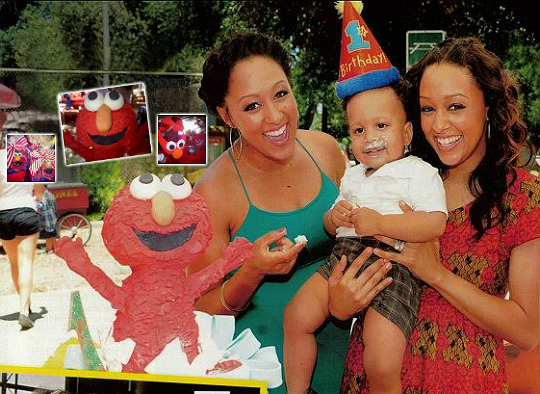 Cree Is In Elmos World The One Year Old Celebrated His Birthday Style On June 28 2012 With Elmo Party Bags And A Cake That Was Nothing Short Of