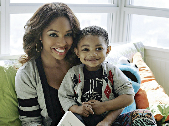 BROOKE VALENTINE AND SON ARE FOREVER