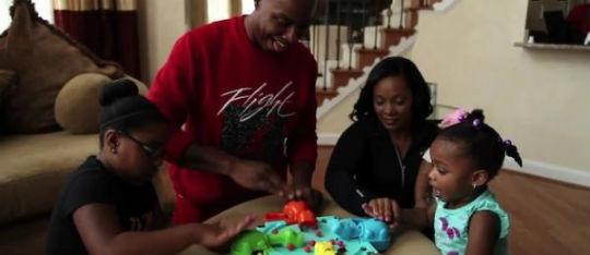 VIDEO: CARON BUTLER IS A FAMILY MAN