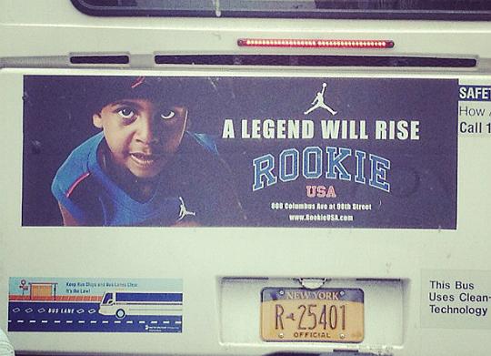 Kiyan Anthony's Billboard ad