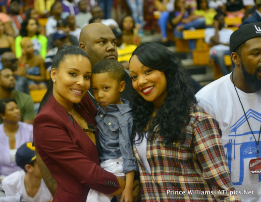 Eudoxie, Romelo Hill, and Monica Brown