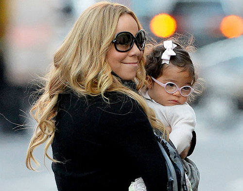 mariah carey and monroe hit the city black celebrity kids