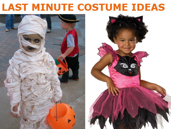 Bck 39 s last minute halloween costume ideas for Easy homemade costume ideas for kids