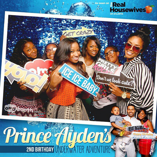 Toya Wright, Kandi Burruss, and Family