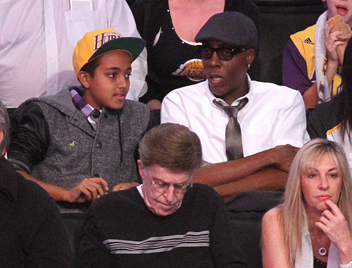 ARSENIO HALL TO SON: 'I WANTED YOU LIKE MY DAD WANTED ME'