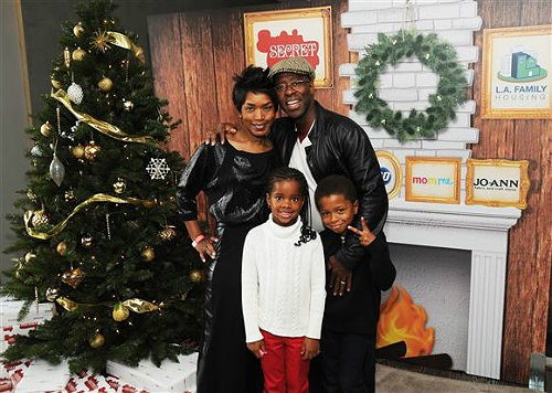 Angela Bassett Kids 2014 Courtney B. Van...
