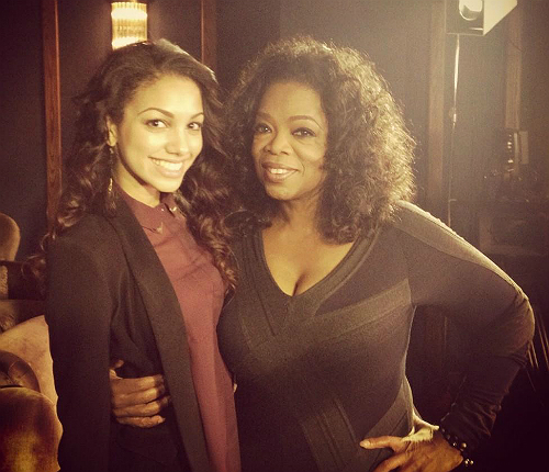 TV WATCH: JAMIE FOXX AND CORINNE VISIT OPRAH FOR THE 'NEXT CHAPTER'