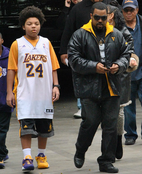 SPOTTED: VANESSA BRYANT, SNOOP DOGG, ICE CUBE, ARSENIO HALL AND KIDS ...