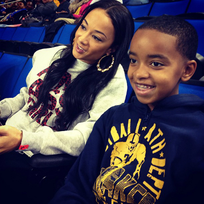 Draya Michele Son Father DRAYA AND SON C...