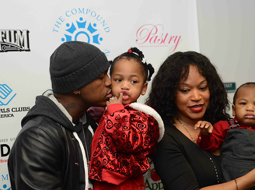 SPOTTED: DJIMON, NEYO, AND KIDS AND MORE