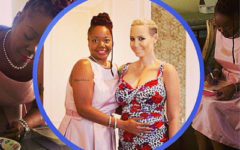 "Amber and her mother-in-law Katie ""Peachie"" Wimbush,"