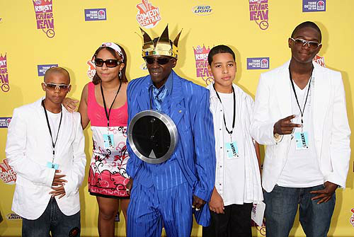 Flavor Flav and kids