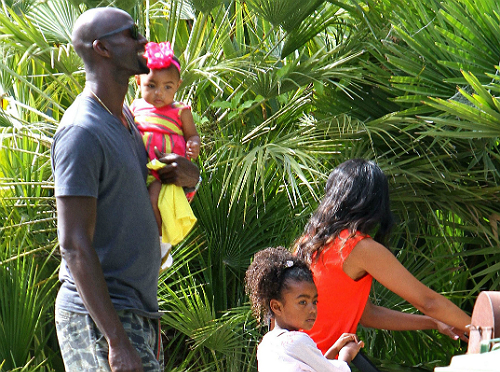 Kevin Garnett And Family Attend Star Studded Birthday