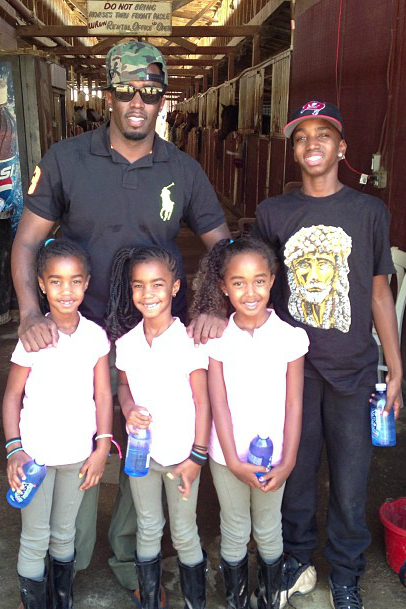 SEAN COMBS AND HIS ENTREPRENEURS IN TRAINING