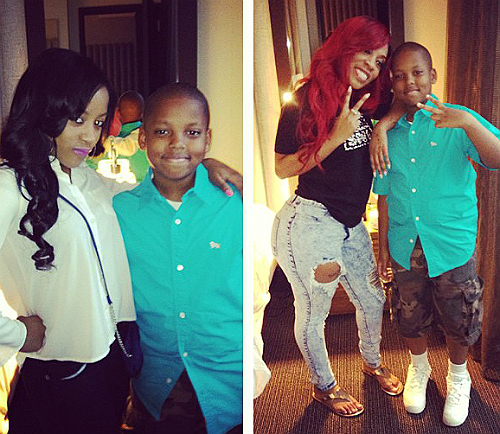 k michelle you will get to see more of my son on my new reality show