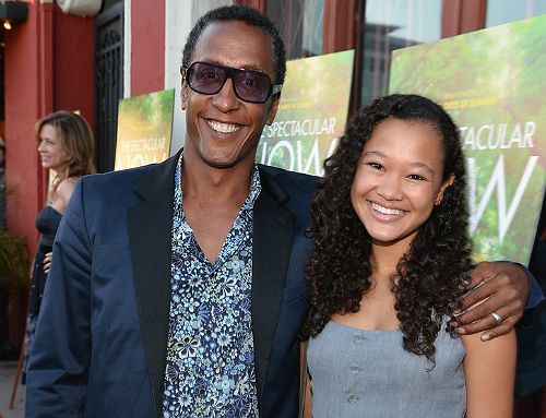 Andre Royo with Wife Jane Choi
