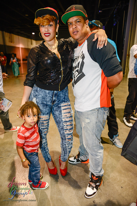 PHOTOS: KEKE WYATT AND EGYPT SHERROD BRING KIDS TO 'FSO'