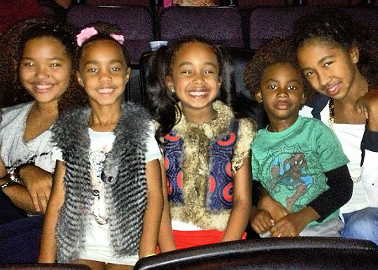 Sean Combs Kids 2013