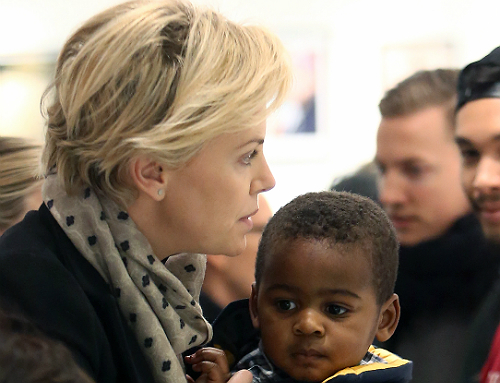 Charlize Theron feat pic