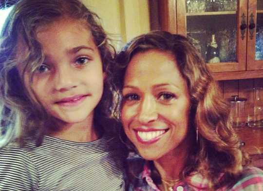 A STACEY DASH SPENDS QUALITY TIME WITH HER COUSIN DAMON DASH