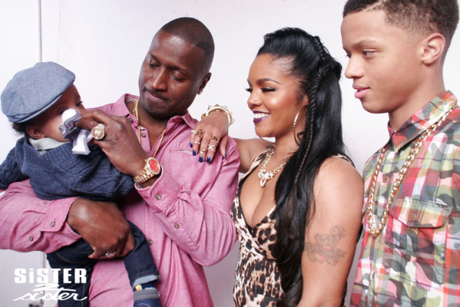 rasheeda and family featured in sister 2 sister magazine