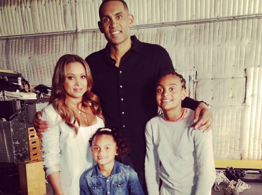Kevin Hart Commercial >> GRANT HILL AND FAMILY ON SET OF NEW COMMERCIAL