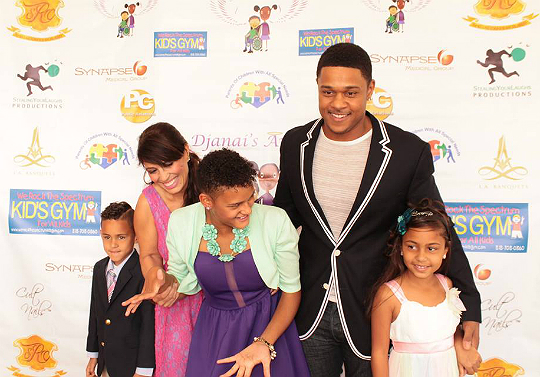 POOCH HALL AND WIFE HOST 'SPECIAL NEEDS FAMILY PROM' IN HONOR OF DAUGHTER'S BIRTHDAY