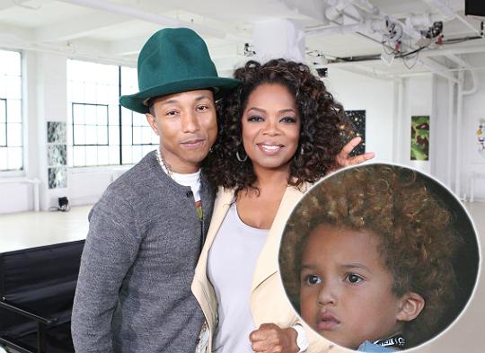 pharrell williams wife and kids