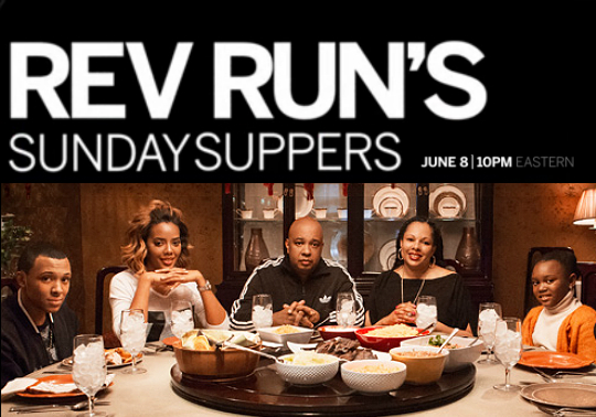 TV WATCH REV RUN HOPES TO LURE KIDS BACK WITH SUNDAY SUPPERS