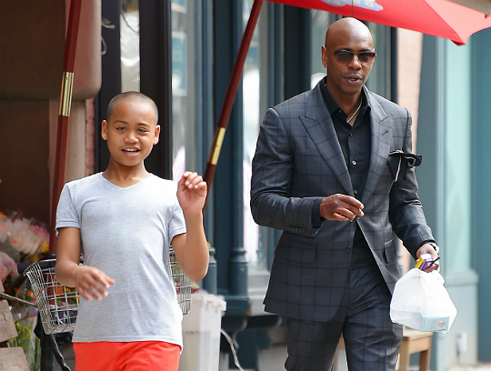 Spotted Dave Chappelle And Family