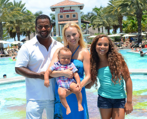 alfonso ribeiro and family vacation on the islands