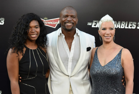 TERRY CREWS AND FAMILY ATTEND 'THE EXPENDABLES 3' PREMIERE