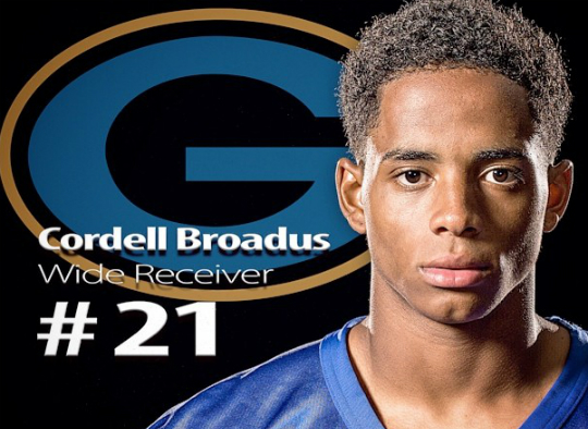 CORDELL BROADUS: 'I'M TRYING TO MAKE A NAME FOR MYSELF'