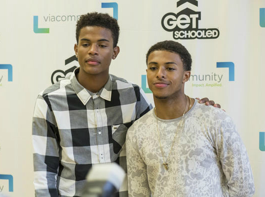 """DIGGY SIMMONS AND TREVOR JACKSON """"GET SCHOOLED""""  DIGGY SIMMONS A..."""