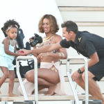 The Carters are still sharing sweet family photos from their European vacay. Beyonce recently updated her Tumblr with new photos from their latest excursion to Paris' Notre Dame Cathedral where they took in the scenery… -