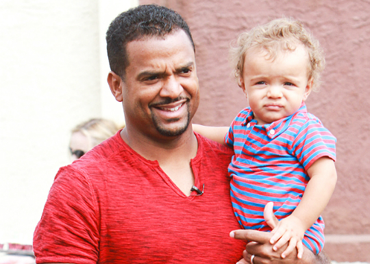 ALFONSO RIBEIRO TAKES HIS 'MINI ME' TO 'DANCING WITH THE ...