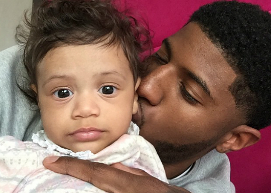 PAUL GEORGE AND HIS BABY GIRL 555c122ab