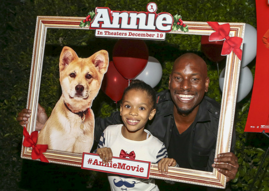 TYRESE AND DAUGHTER HOST 'ANNIE' SCREENING