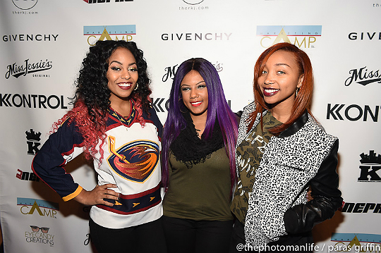 THE OMG GIRLZ JOIN ERICA DIXON AND OTHERS AT 'FASHION JAMS'