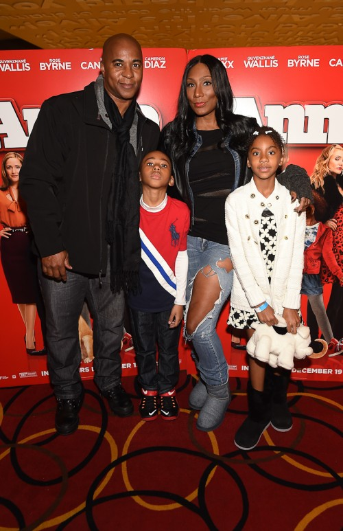 photos celebs and their kids attend atl screening of annie