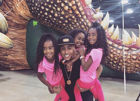 Black celebrity kids jessie combs