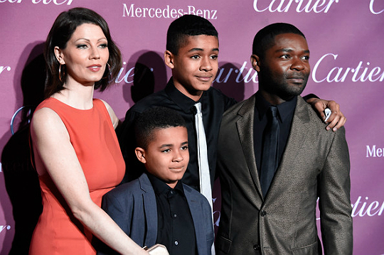 DAVID OYELOWO AND FAMILY ATTEND PALM SPRINGS AWARDS GALA ...
