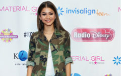Zendaya on red carpet with red shoes