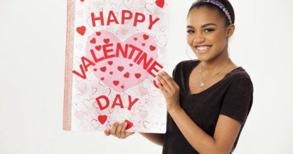 CHINA MCCLAIN IS LIFTING SENIOR SPIRITS WITH LOVE LETTERS