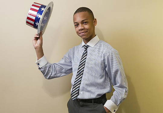 VIRAL KIDS: 12-YEAR-OLD CJ PEARSON QUESTIONS PRESIDENT OBAMA'S LOVE FOR AMERICA