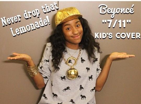 VIRAL KIDS: KYLA IMANI COVERS BEYONCE'S '7/11'