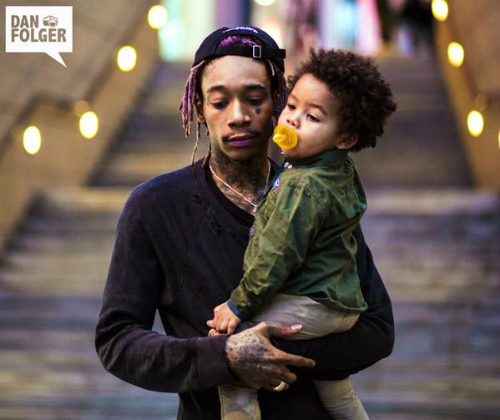 WIZ KHALIFA: 'MY SON IS PRETTY MUCH THE ONLY THING THAT CAN SPIN MY UNIVERSE OUT OF CONTROL'